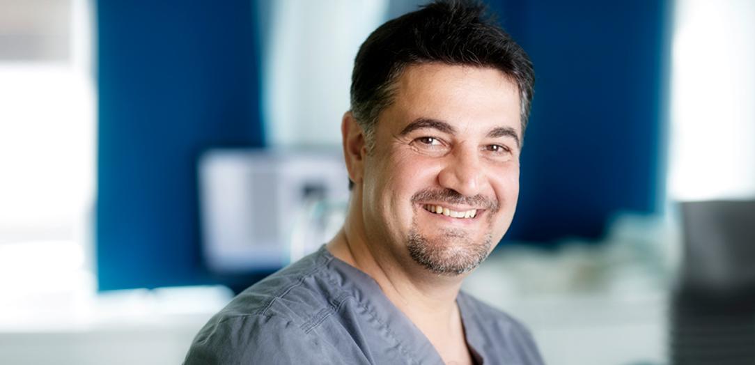 Spesialist i oral kirurgi Ala Ammin, Tannhelsesenteret Sogndal