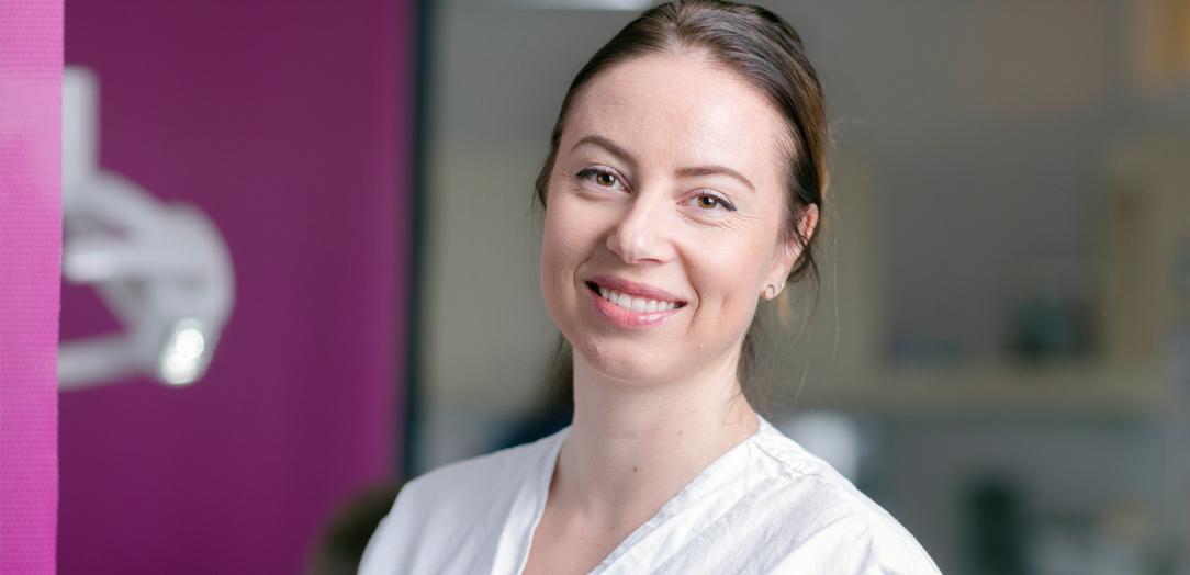 Kjeveortopedisk assistent Camilla Motrø, Tannhelsesenteret