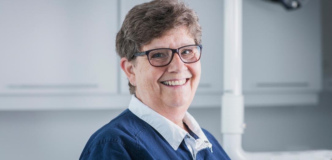 Tannpleier Karin Øverby, Tannhelsesenteret