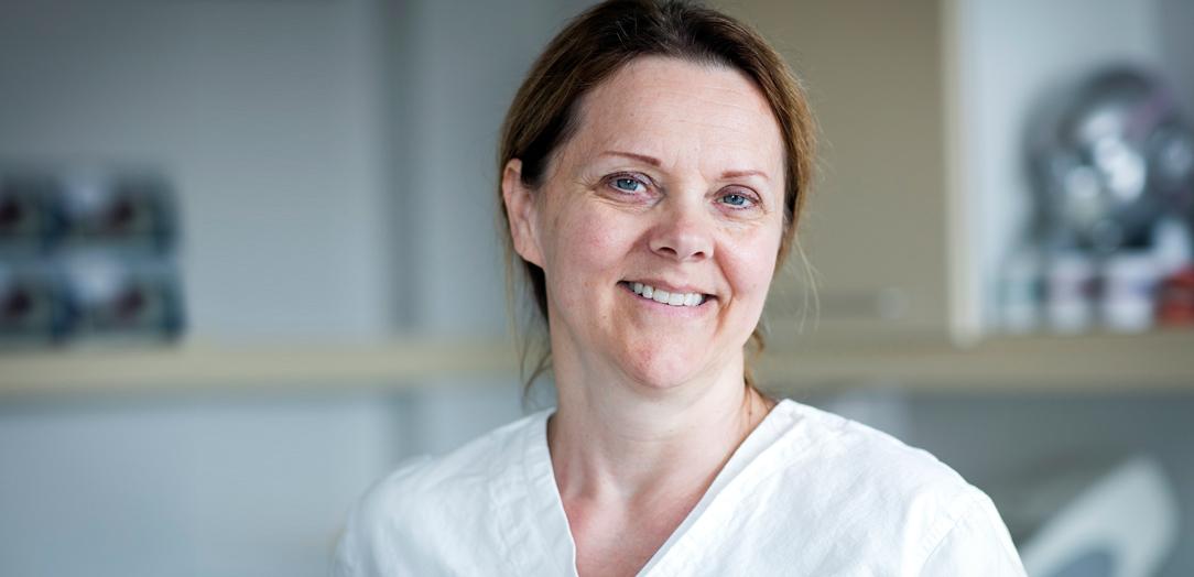 Tannhelsesekretær Målfrid Emilie Arnesen, Tannhelsesenteret