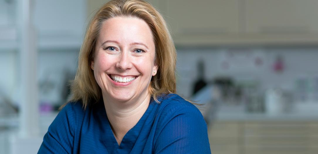 Tannlege Terese Larsen, Tannhelsesenteret